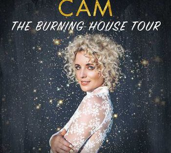 logo Cam burning house tour 350