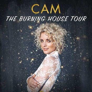 logo Cam burning house tour 350