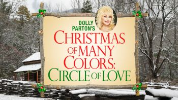 logo dolly parton christmas of many colors 350