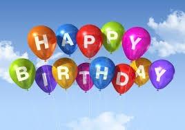 logo happy birthday ballonnen