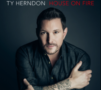 Ty Herndon house on fire 350