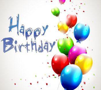 logo Happy Birthday ballonnen rechts 350