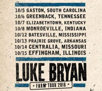 logo Luke Bryan farm tour 2016 350