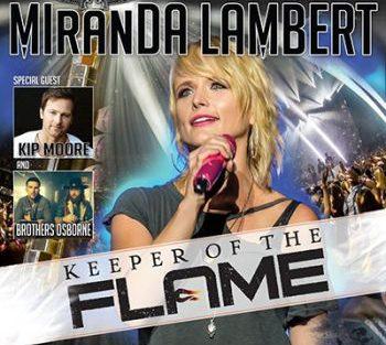 logo Miranda Lambert keeper of the flame 350