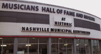 logo Nashville musicians hall of fame 350