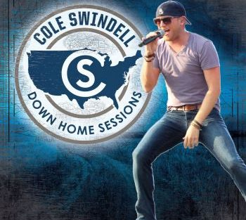 Cole Swindell down home sessions cover 350
