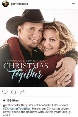 logo Christmas Together garth and trisha