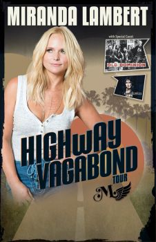 logo Miranda Lambert highway vagabond 350
